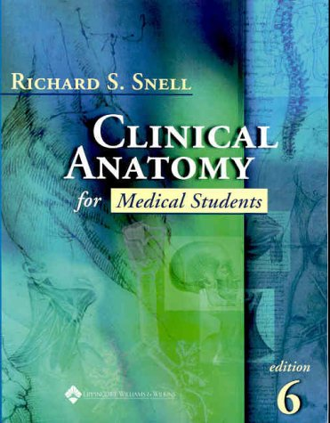 snell anatomy chapter 1 Features:each chapter follows the same format: clinical example, clinical objectives, basic clinical anatomy, surface anatomy, clinical problem solving, and review questions the beginning of each chapter is a clinical case, followed by an outline of the material covered and a few paragraphs on the objectives of the chapter.