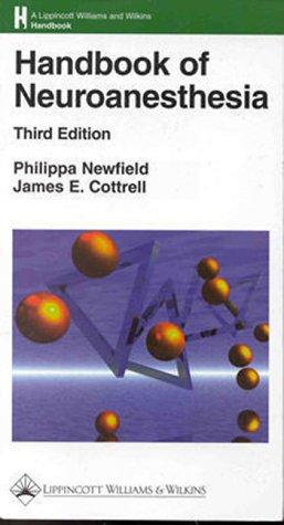 9780781716079: Handbook of Neuroanesthesia
