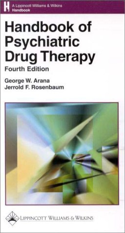 9780781716093: Handbook of Psychiatric Drug Therapy