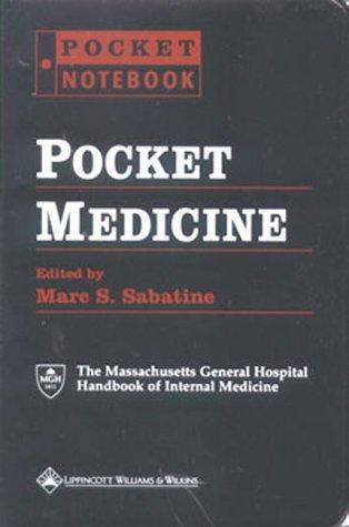 Pocket Medicine (Pocket Notebook): Sabatine, Marc S.