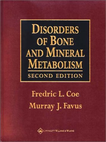9780781717892: Disorders of Bone and Mineral Metabolism