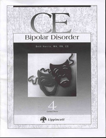 9780781718974: Bipolar Disorders: Ce Booklet (CE (Continuing Education))