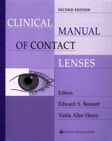 9780781719513: Clinical Manual of Contact Lenses