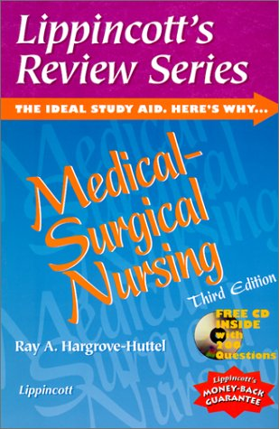 9780781719643: Lippincott's Review Series, Medical-Surgical Nursing (Book with CD-ROM)