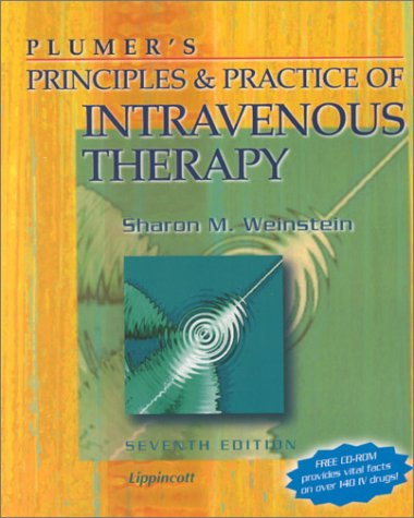 9780781719889: Plumer's Principles & Practice of Intravenous Therapy (Book with CD-ROM for Windows or Macintosh)