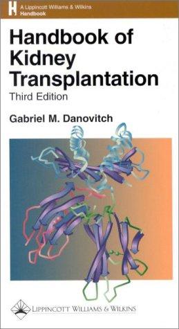 9780781720663: Handbook of Kidney Transplantation
