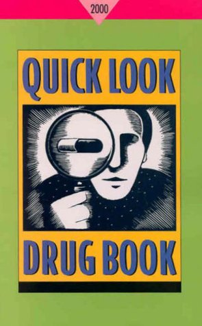 Quick Look Drug Book, 2000: Charles Lacy, Morton