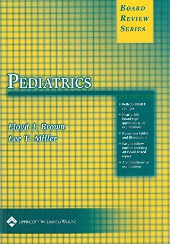 9780781721295: BRS Pediatrics (Board Review Series)