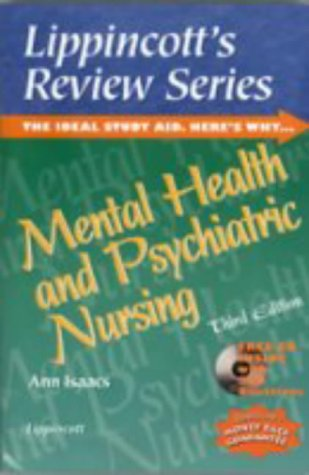 9780781721882: Lippincott's Review Series, Mental Health and Psychiatric Nursing (Book with CD-ROM)