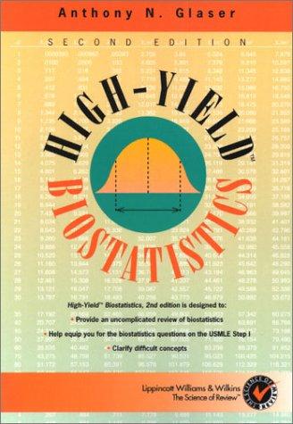 9780781722421: High-Yield™ Biostatistics (High-Yield Series)