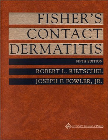 9780781722520: Fisher's Contact Dermatitis