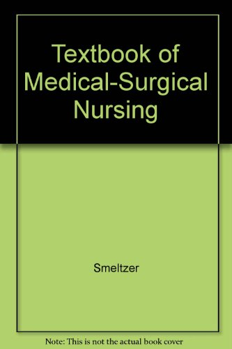 9780781723060: Textbook of Medical-Surgical Nursing