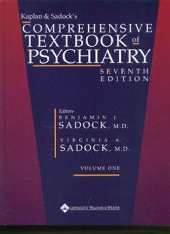 9780781723886: Kaplan and Sadock's Comprehensive Textbook of Psychiatry with CDROM