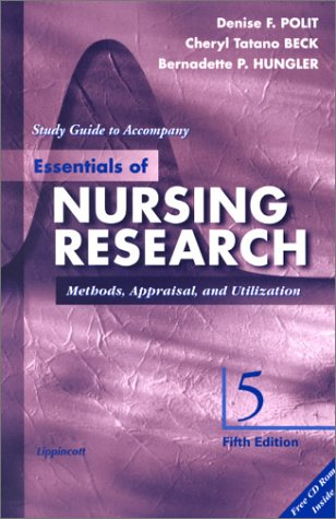 9780781725583: Study Guide to Accompany Essentials of Nursing Research: Methods, Appraisal, and Utilization