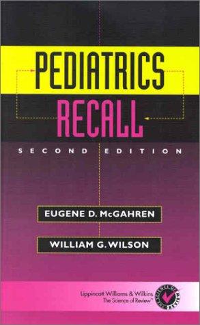9780781726115: Pediatrics Recall