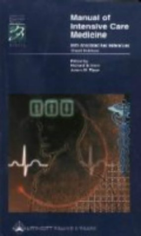 9780781726573: Manual of Intensive Care Medicine: With Annotated Key References (Spiral Manual Series)