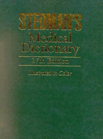 9780781727273: Stedman's Medical Dictionary, Student Value Pack (Book with CD-ROM)