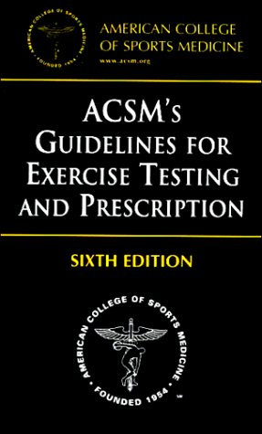9780781727358: ACSM's Guidelines for Exercise Testing and Prescription (American College of Sports Medicine)