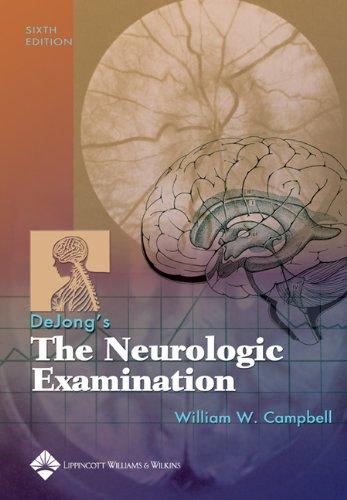 9780781727679: Dejong's The Neurologic Examination