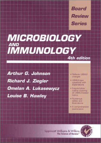9780781727709: Microbiology & Immunology: Board Review Series