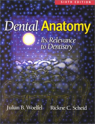 Dental Anatomy: Its Relevance to Dentistry: Julian B Woelfel,