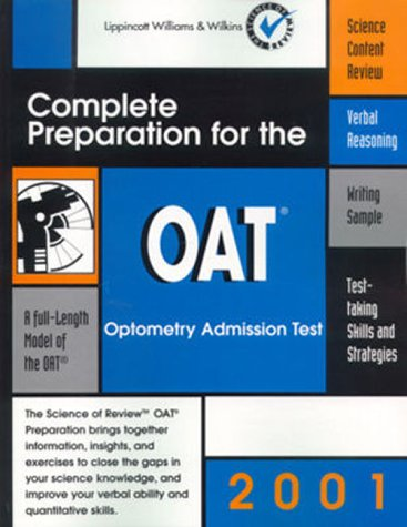 9780781728409: OAT: Complete Preparation for the Optometry Admission Test