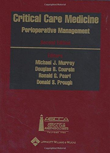 9780781729680: Critical Care Medicine: Perioperative Management