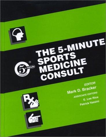 9780781730457: The 5-Minute Sports Medicine Consult