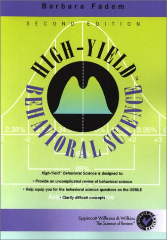 9780781730846: High-Yield Behavioral Science