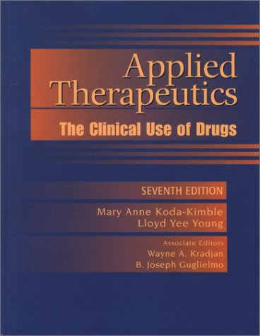 9780781731379: Applied Therapeutics: The Clinical Use of Drugs