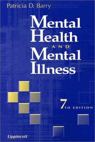 9780781731386: Mental Health and Mental Illness