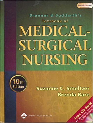 9780781731935: Brunner and Suddarth's Textbook of Medical-Surgical Nursing, 10th Edition