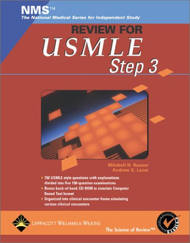 9780781732017: NMS Review for the USMLE Step 3 (Book with CD-ROM)