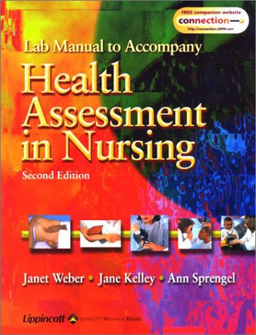 9780781732437: Student Lab Manual to Accompany Health Assessment in Nursing, 2E