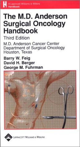 9780781733076: The M.D. Anderson Surgical Oncology Handbook