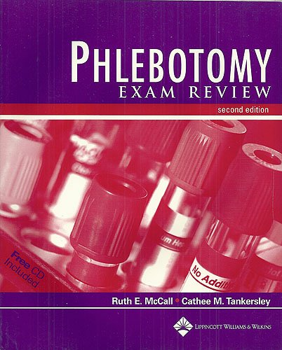 9780781733540: Phlebotomy Exam Review (Book with CD-ROM) - AbeBooks