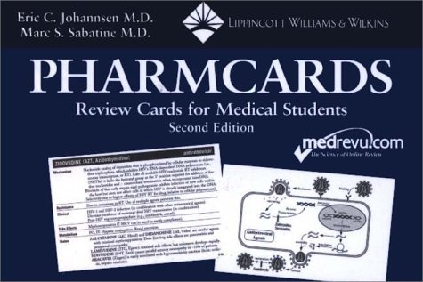 Pharmcards: Review Cards for Medical Students (2nd: Johannsen, Eric C.;