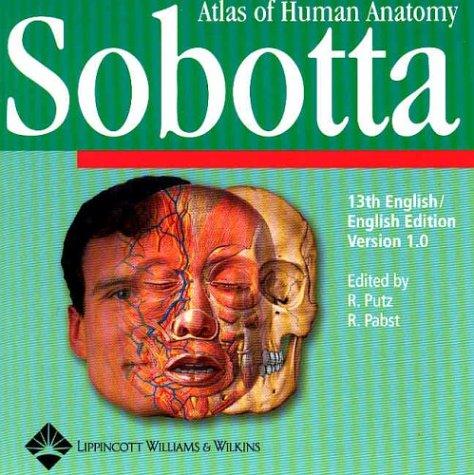 9780781734035: Sobotta Atlas of Human Anatomy for Windows 1.0: Institutional Version, English With English Nomenclature