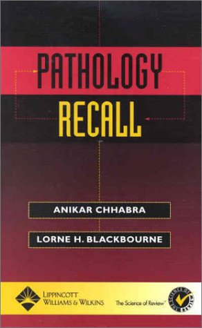 9780781734066: Pathology Recall (Recall Series)