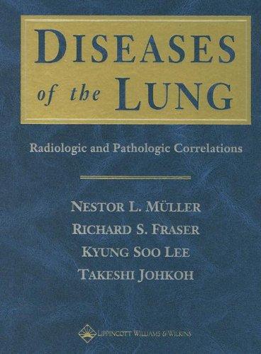 9780781734356: Diseases of the Lung: Radiologic and Pathologic Correlations