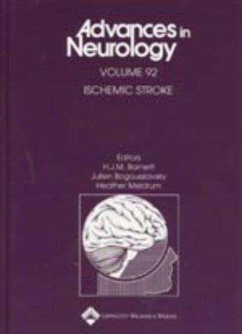Ischemic Stroke (Advances in Neurology): H.J.M. Barnett; Julien