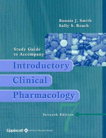 9780781736978: Study Guide to Accompany Introductory Clinical Pharmacology
