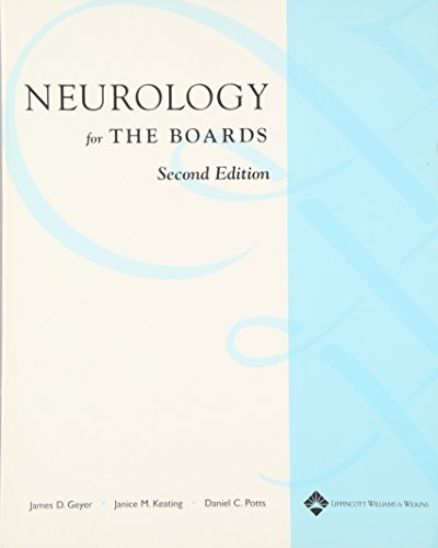 Neurology for the Boards: Geyer MD, James