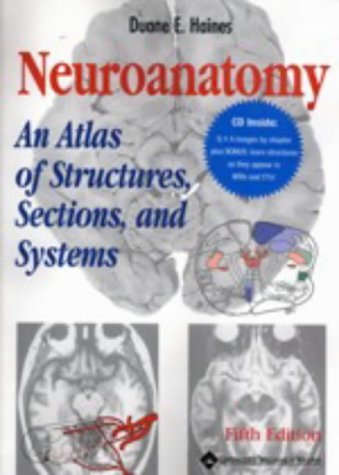 9780781737364: Neuroanatomy: An Atlas of Structures, Sections, and Systems (Book with CD-ROM)