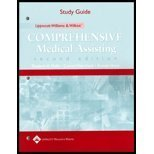 9780781737722: Study Guide to Accompany Lippincott Williams & Wilkins' Comprehensive Medical Assisting