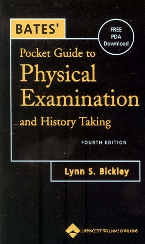 9780781738187: Bates' Pocket Guide to Physical Examination and History Taking
