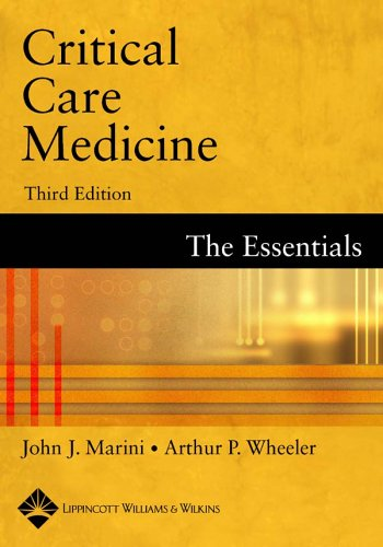 9780781739160: Critical Care Medicine: The Essentials