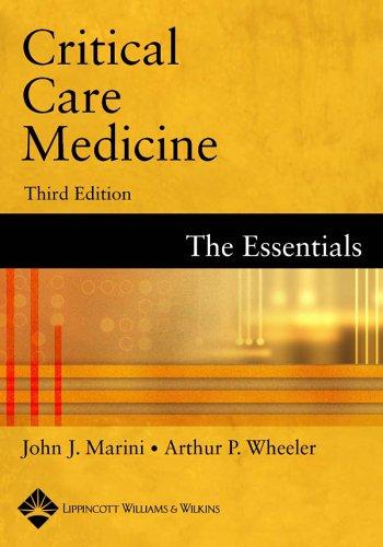 9780781739160: Critical Care Medicine: The Essentials [Third Edition]
