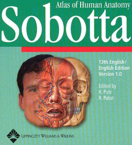 9780781740548: Sobotta Atlas of Human Anatomy, Version 1.5: 13th Edition in English