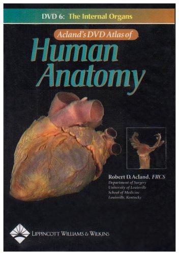 9780781740746: Acland's Atlas of Human Anatomy DVD's